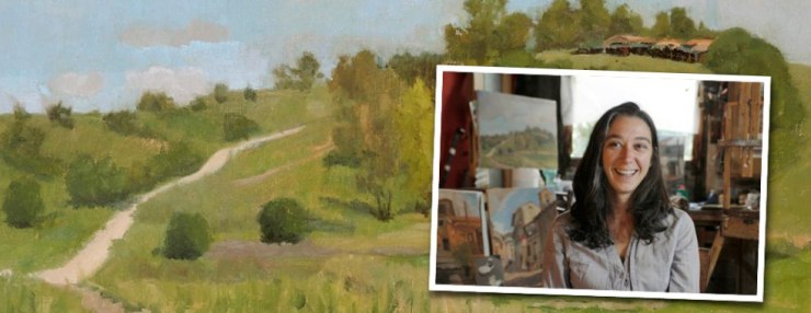 plein air italy with kelly medford