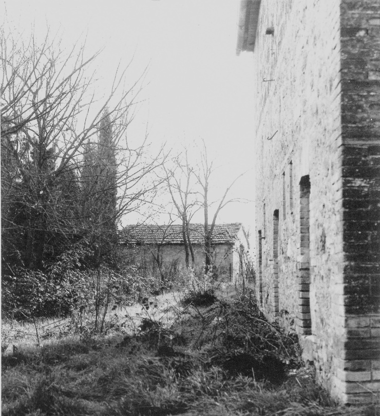 a rare photo of our old house - pre-restoration